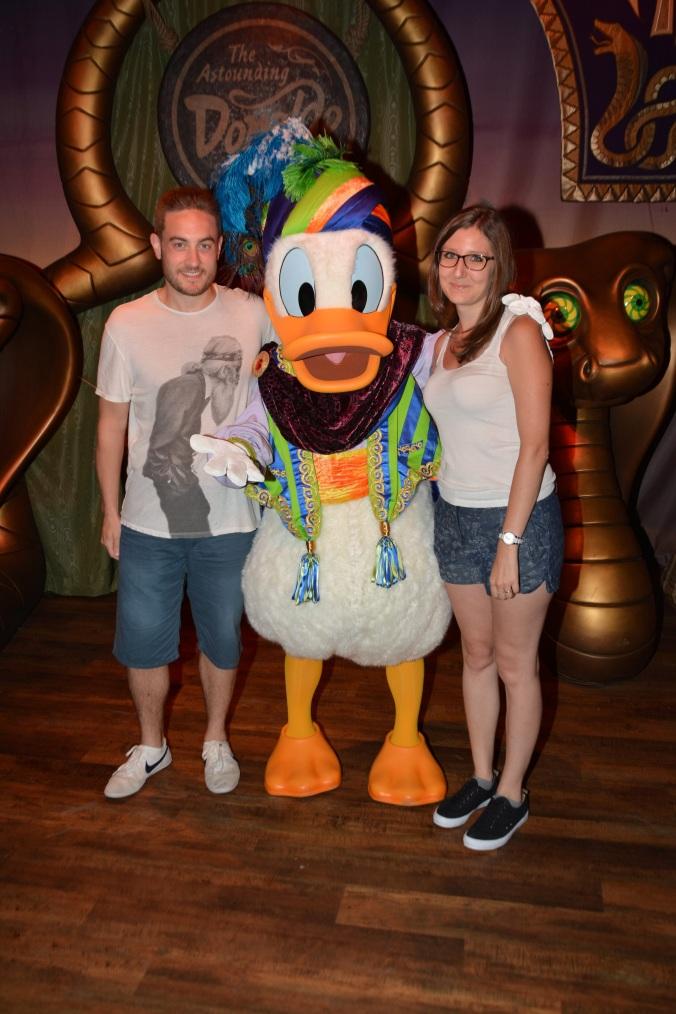 Magic Kingdom - Rencontre avec Donald