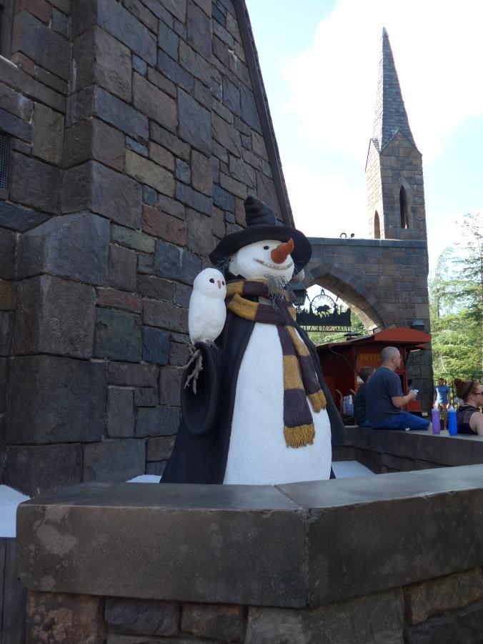 Bonhomme de neige à Pré au Lard