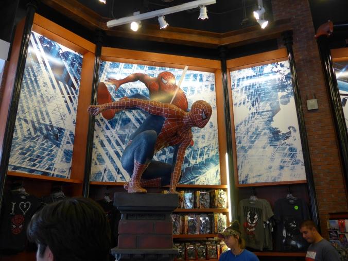 Statue de Spider-Man